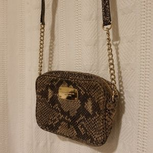 Michael Kors Small Snakeskin Crossbody bag